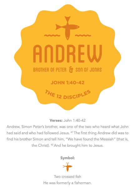 the 12 disciples zach arvidson design